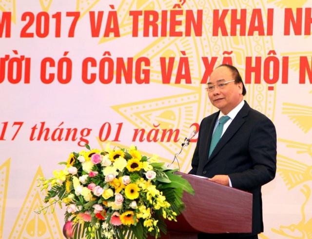 Thủ tướng Nguyễn Xuân Phúc phát biểu tai Hội nghị (Ảnh: MD)