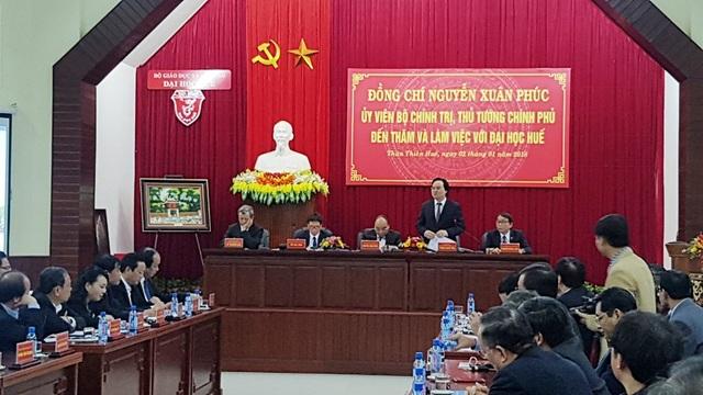 Bộ trưởng Bộ GD&ĐT phát biểu