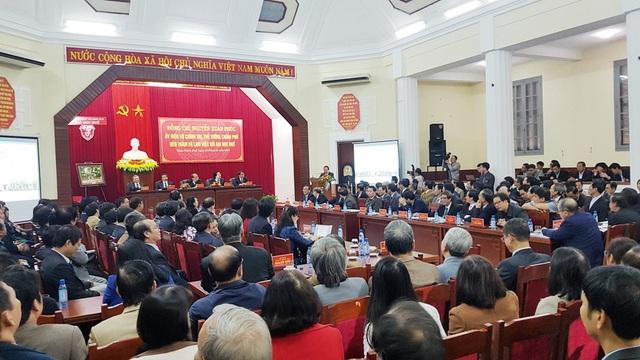 Buổi thăm và làm việc tại Đại học Huế của Chính phủ