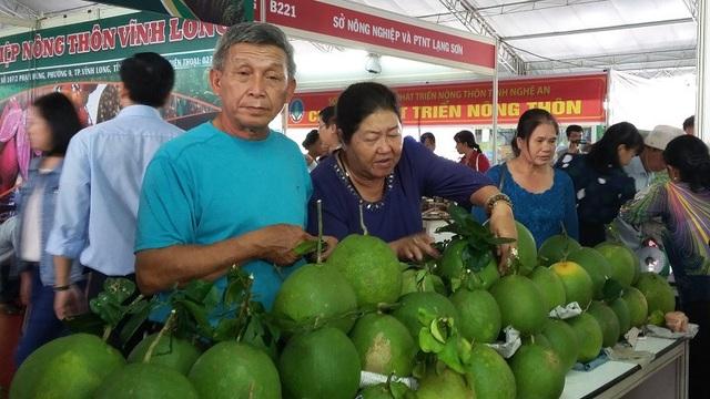 Hội chợ xanh với những mặt hàng thực phẩm sạch sẽ phục vụ nhu cầu của người dân trong dịp Tết