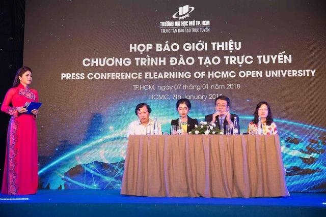 Trường ĐH Mở TP.HCM giới thiệu chương trình đào tạo trực tuyến - 2
