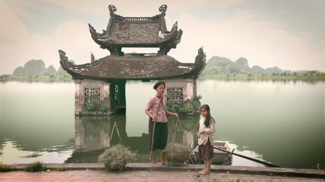 Cảnh làng quê đẹp mê hồn trong phim Thương nhớ ở ai.