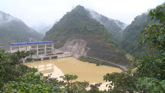 Công trình nhà máy thủy điện Bắc Mê.