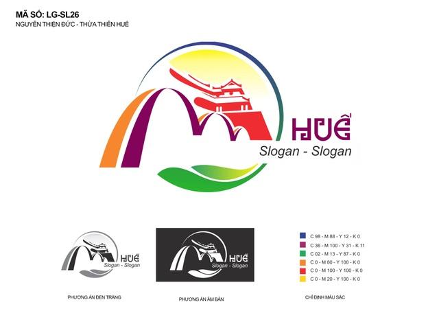 Logo quảng bá du lịch Thừa Thiên Huế mới được giải Nhất sẽ được sử dụng rộng rãi trong thời gian tới