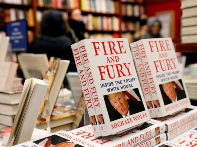 Cuốn sách viết về Tổng thống Trump đang gây sốt tại Mỹ (Ảnh: Reuters)