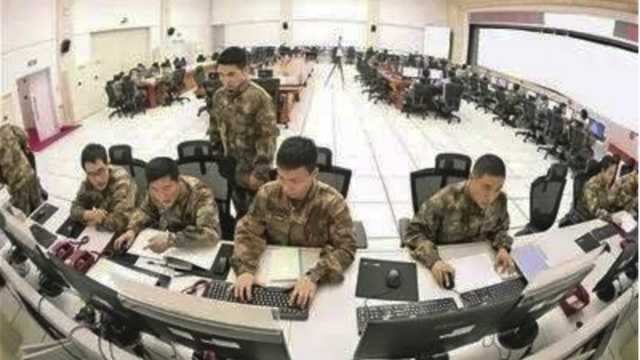 Bên trong Trung tâm Chỉ huy Tác chiến chung của Trung Quốc (Ảnh: News.china.com)