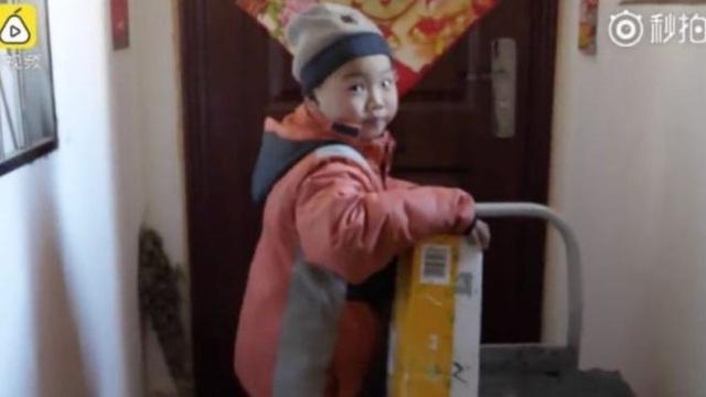 Li Chang Jiang hiện có thể tự giao hàng một mình (Ảnh: BBC)