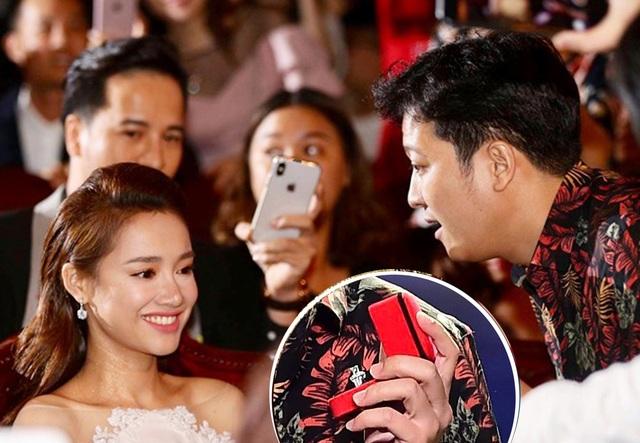 Màn cầu hôn của Trường Giang được xem là sự kiện chấn động của showbiz Việt trong suốt tuần qua