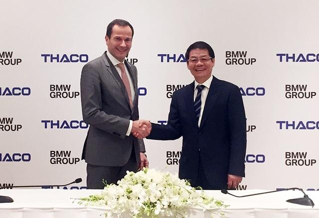 BMW Group chính thức chuyển giao quyền kinh doanh tại Việt Nam cho đại diện tập đoàn Trường Hải.
