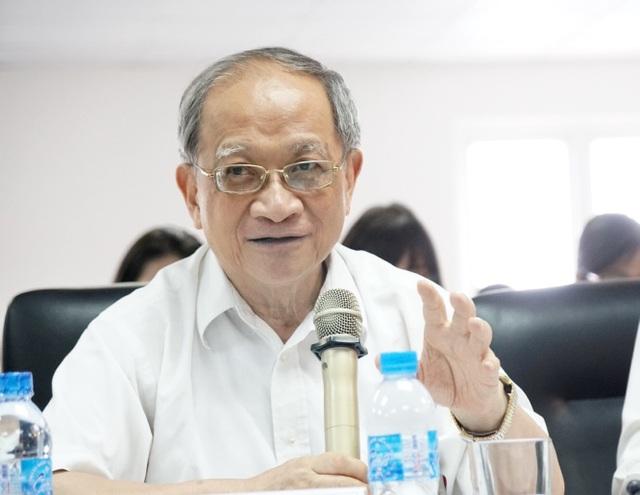 Chuyên gia kinh tế Lê Đăng Doanh, nguyên Viện trưởng Viện CIEM, thành viện Ban Nghiên cứu Thủ tướng