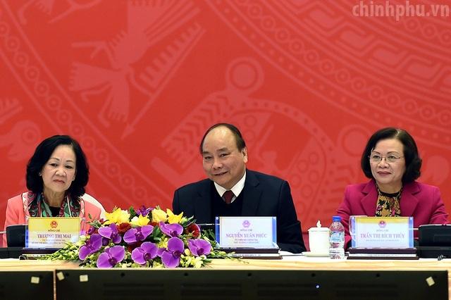 Thủ tướng chủ trì hội nghị cùng các lãnh đạo Ban Dân vận Trung ương.