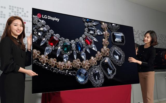 """LG khởi động """"cuộc đua"""" TV tại CES với TV 8K OLED siêu đắt - 1"""