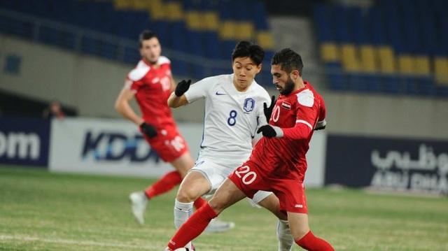 Hoà trận này, U23 Hàn Quốc phải quyết chiến với U23 Australia trong trận đấu cuối vòng bảng để giành vé vào tứ kết