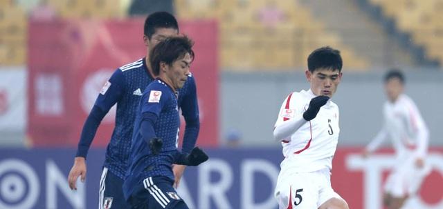 U23 Nhật Bản đánh bại U23 CHDCND Triều Tiên