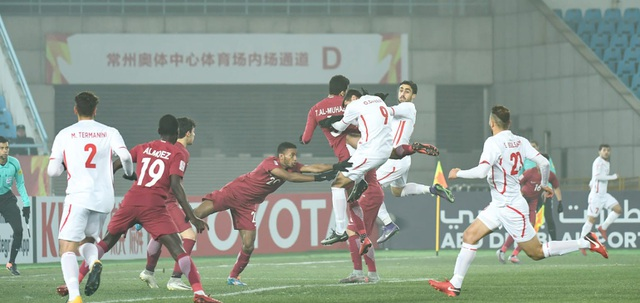 U23 Qatar giành thắng lợi trước U23 Palestine