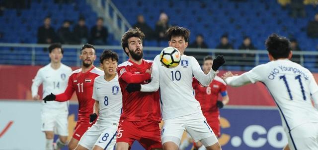 U23 Hàn Quốc bế tắc trước U23 Syria