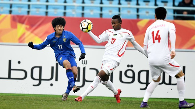 Palestine cũng giành quyền đi tiếp sau khi thắng U23 Thái Lan