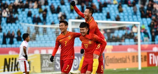 Niềm vui chiến thắng của đội chủ nhà