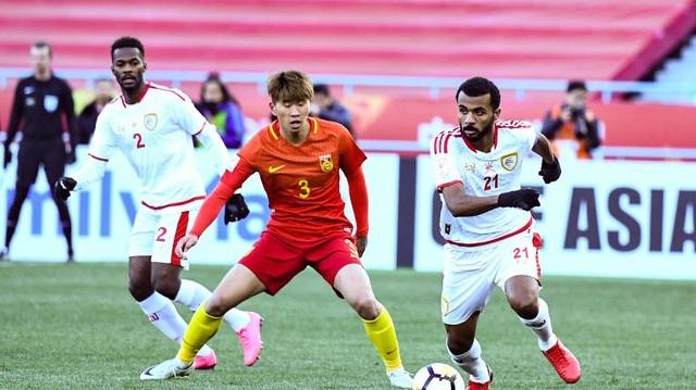Oman bất lực trong việc ngăn chặn U23 Trung Quốc