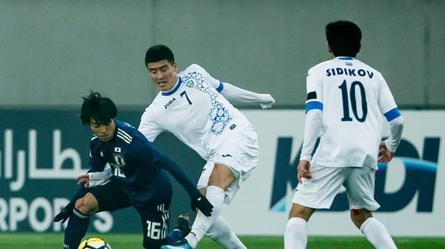 U23 Nhật Bản bất ngờ thua đậm U23 Uzbekistan