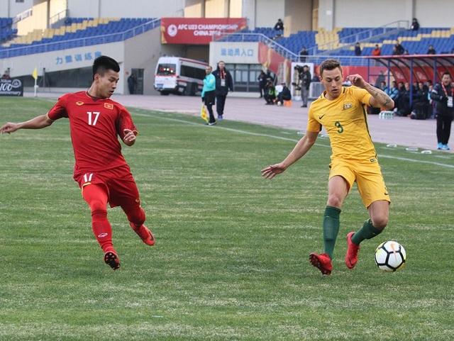 U23 Australia nhận thất bại cay đắng trước U23 Việt Nam