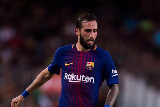 Barcelona sẵn sàng để Aleix Vidal ra đi