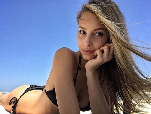 Viktoria Varga, bạn gái Graziano Pelle