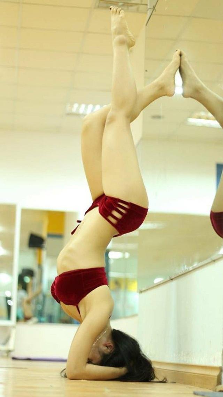 Cô gái vùng cao chịu khó tập gym sở hữu vòng ba 95cm - 5