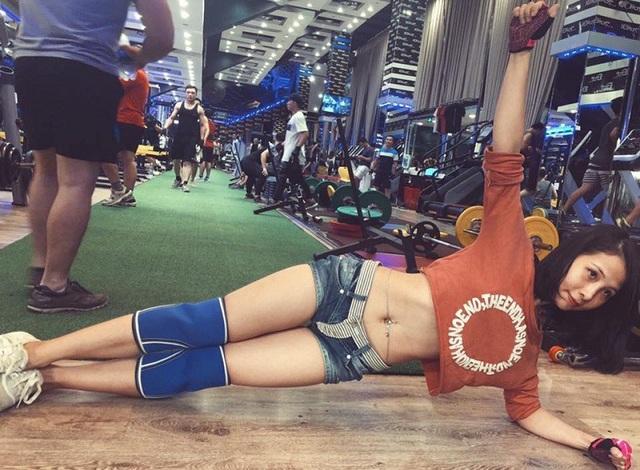 Cô gái vùng cao chịu khó tập gym sở hữu vòng ba 95cm - 4