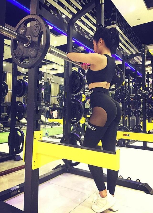 Cô gái vùng cao chịu khó tập gym sở hữu vòng ba 95cm - 6