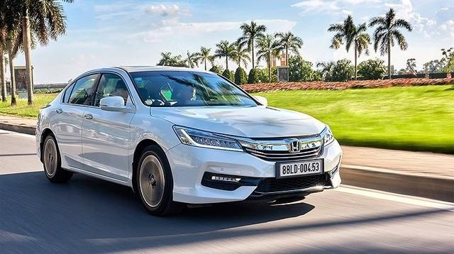 3. Honda Accord: Đây là mẫu xe bán được ít nhất tháng 12 của Honda Việt Nam với 1 xe được bán ra.