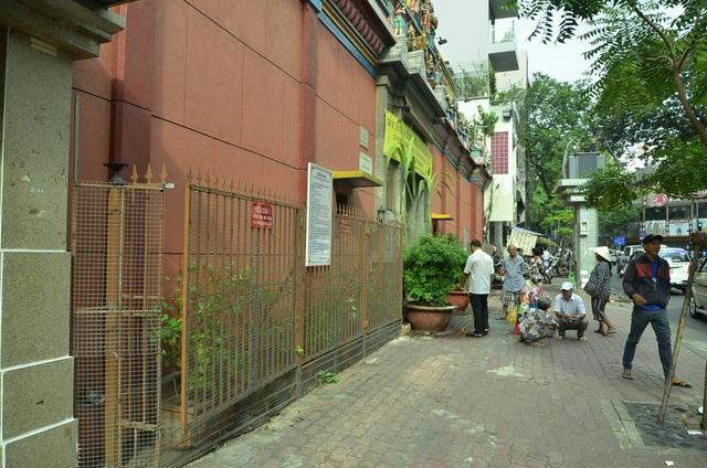 Bãi xe trước số 45 Trương Định (phường Bến Thành) cũng đã được xoá sổ
