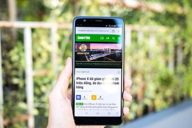 Loạt smartphone vừa bán tại Việt Nam trong tháng 1/2018 - 5
