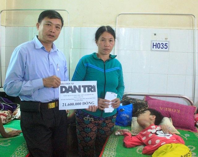 Bạn đọc giúp đỡ thiếu nữ chết mòn vì bại não hơn 21 triệu đồng - 1