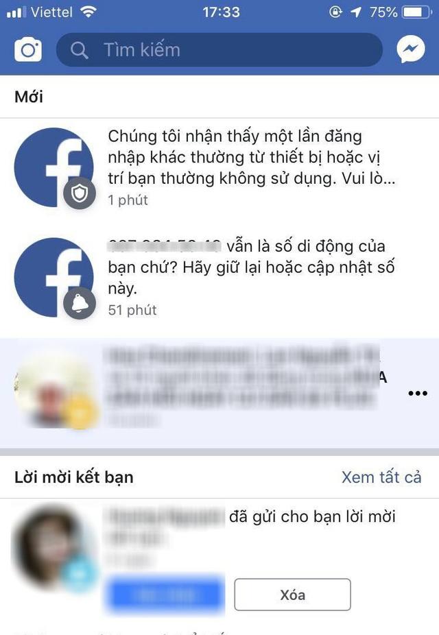 Cận Tết, cảnh báo nhiều tài khoản Facebook bị hack để lừa đảo - 1