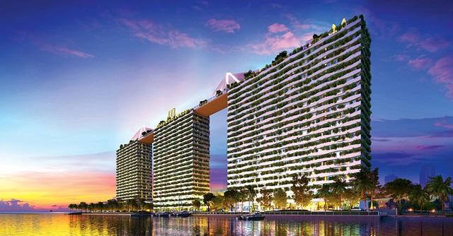 Cất nóc tháp C - Diamond Lotus Riverside - bức tường xanh khổng lồ giữa lòng Sài Gòn - 5