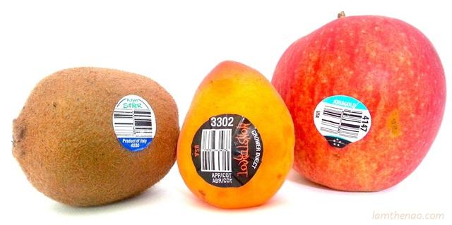 Mua trái cây nhập ngoại, đừng quên kiểm tra dãy số này trên tem - 2