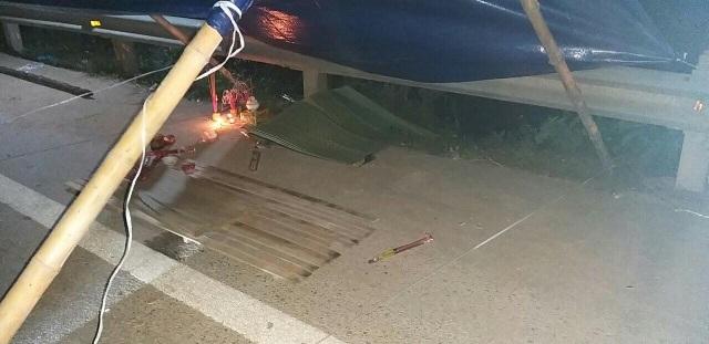 Bị xe Fortuner tông và đẩy đi 50m, phó trạm y tế xã tử vong - 6