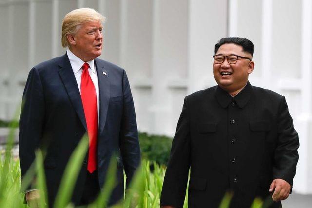 Tổng thống Trump thông báo sẽ gặp thượng đỉnh ông Kim Jong-un ở Hà Nội - 1