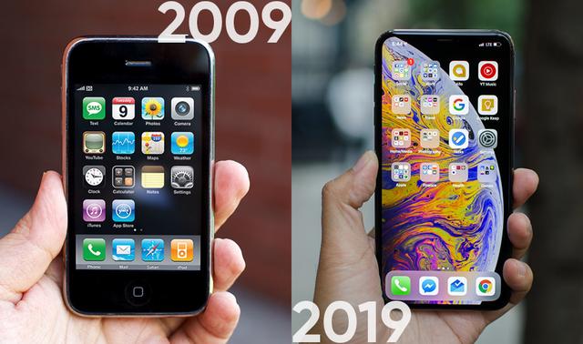 Nhìn lại 10 năm của Apple theo trào lưu #10yearschallenge - 1