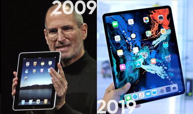 Nhìn lại 10 năm của Apple theo trào lưu #10yearschallenge - 2