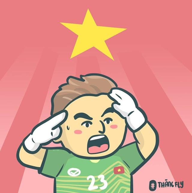 Dân mạng chế ảnh hài hước sau chiến thắng nghẹt thở của tuyển Việt Nam - 19