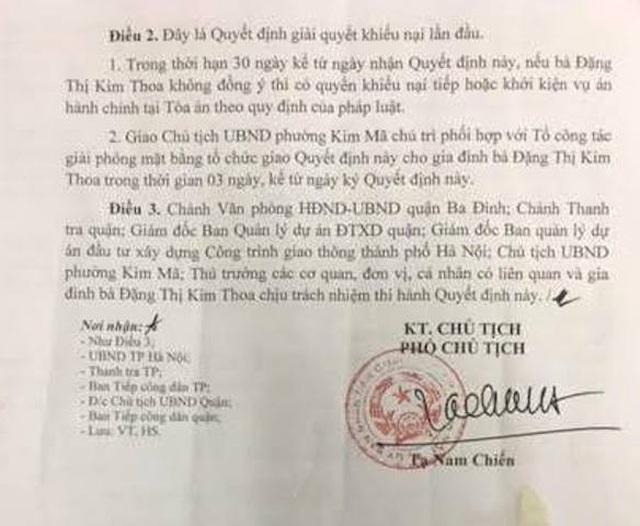 Hà Nội: Quận Ba Đình bổ sung quyền lợi cho người dân sau loạt bài của Báo Dân trí! - 3