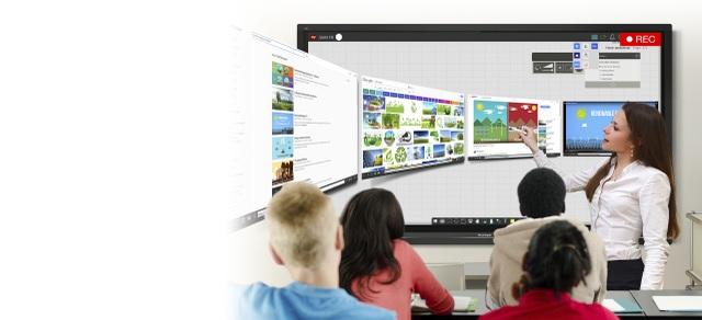 Bước tiến mới - Ứng dụng màn hình tương tác thông minh trong giảng dạy - 5