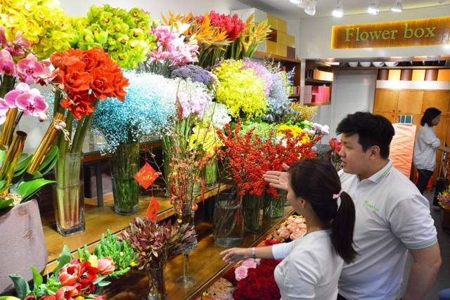 """Hoa """"độc"""", lạ ồ ạt về Sài Gòn phục vụ Tết - 1"""