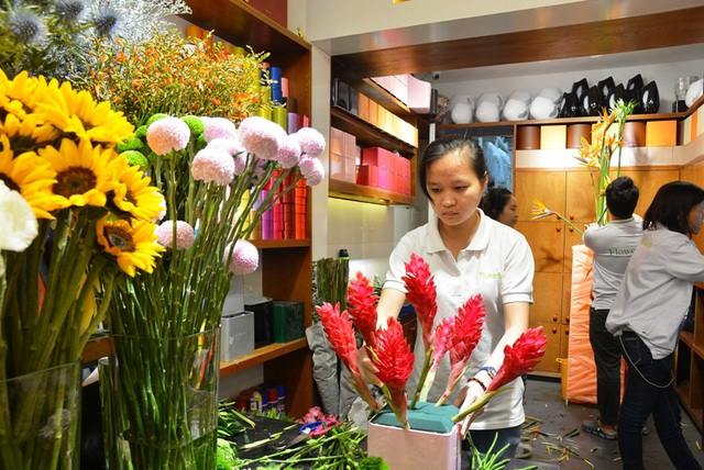 """Hoa """"độc"""", lạ ồ ạt về Sài Gòn phục vụ Tết - 14"""