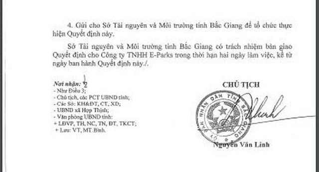 Chủ tịch tỉnh Bắc Giang phạt thẳng tay doanh nghiệp xả thẳng nước thải ra môi trường - 2