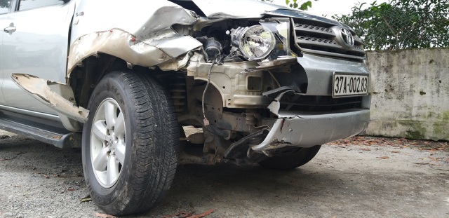 Vụ Fortuner tông phó trạm y tế tử vong: Bố vợ xác nhận con rể gây tai nạn - 2