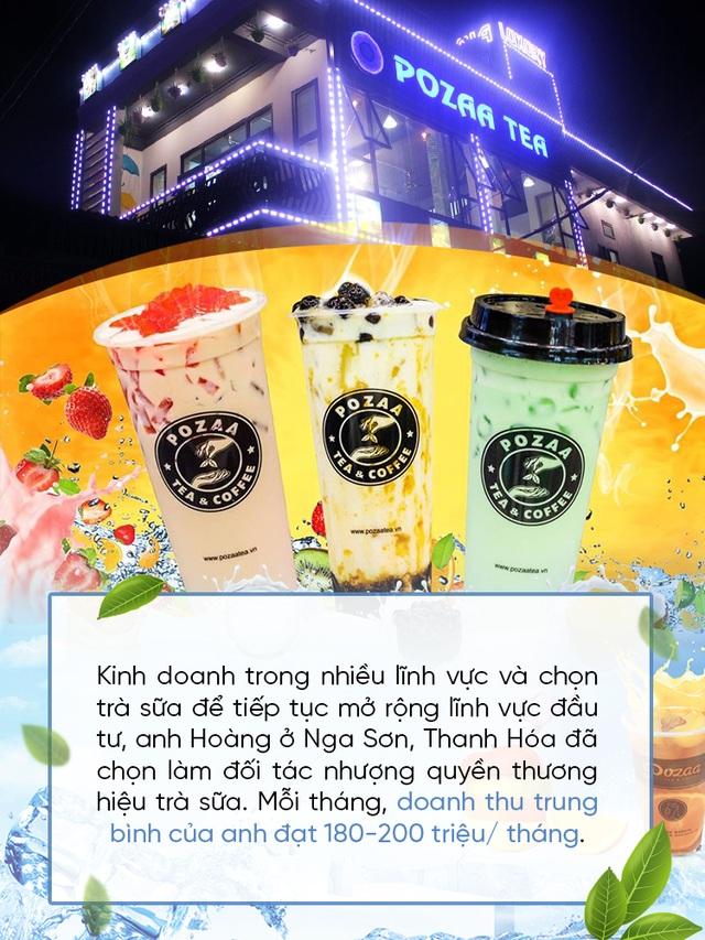 Nhượng quyền thương hiệu trà sữa: Mở rộng cánh cửa start-up cho tất cả mọi người - 5