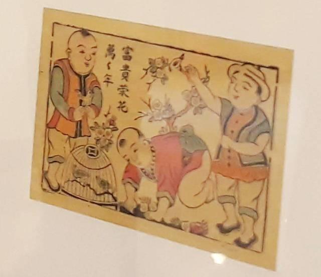 Một số tác phẩm được triển lãm.